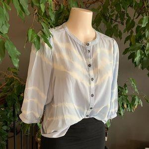 Cream brand blouse